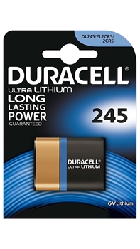 Picture of Duracell Lithium 2CR5 DL245 6 Volt Kamera Pili
