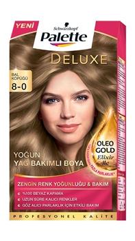 Resim Palette Deluxe Bal Köpüğü Oleo Gold 8-0 Tüp Krem Saç Boyası 50 ml