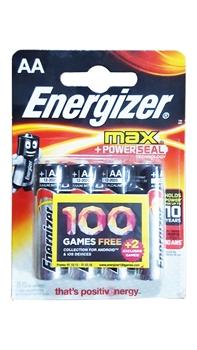 Resim Energizer Max AA 4 lü