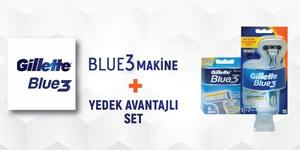 GILLETTE BLUE 3 KAMPANYASI kampanya resmi