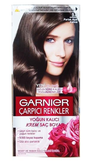 Garnier çarpıcı Renkler 50 Parlak Açık Kahve Saç Boyası