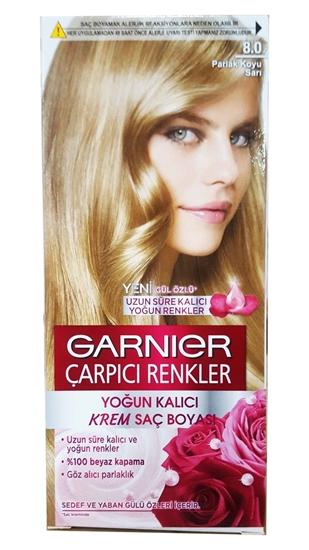 Garnier çarpıcı Renkler 8 Parlak Koyu Sarı Saç Boyası 3600541137042
