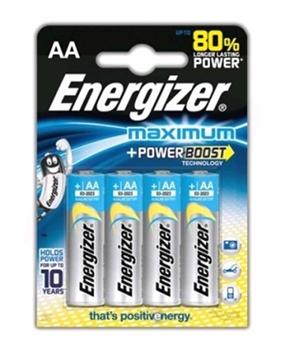 Resim Energizer Maximum AA Kalem 4 lü Paket