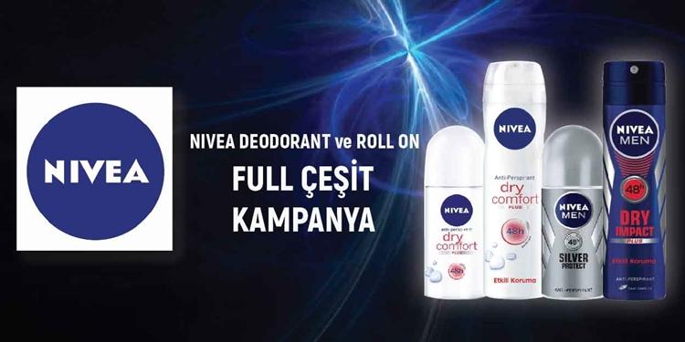 NIVEA DEODORANT, ROLL ON  FULL ÇEŞİT KAMPANYA kampanya resmi