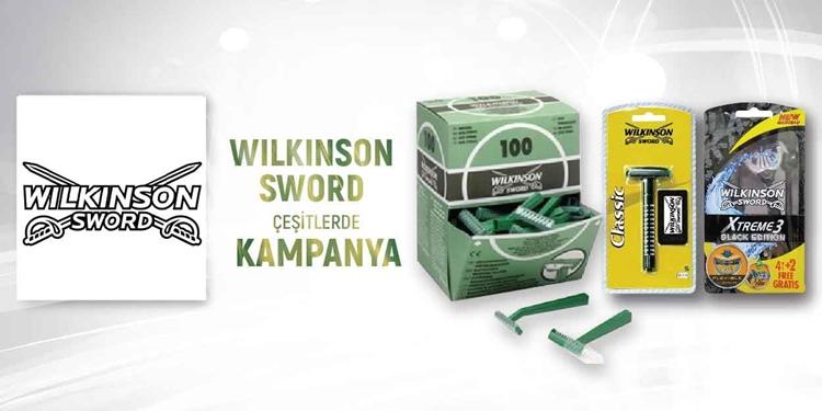 WILKINSON SWORD  ÇEŞİTLERDE KAMPANYA kampanya resmi