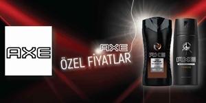 AXE ÖZEL FİYATLAR kampanya resmi