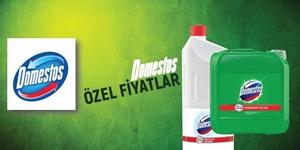 DOMESTOS ÖZEL FİYATLAR KAMPANYASI kampanya resmi
