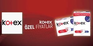 KOTEX ÖZEL FİYATLAR KAMPANYASI kampanya resmi