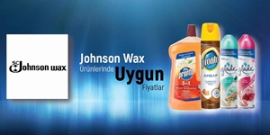 JONHSON WAX KAMPANYASI kampanya resmi