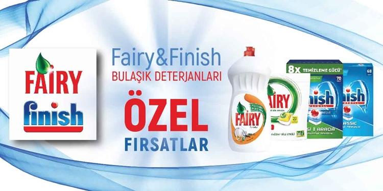 FAIRY&FINISH kampanyası kampanya resmi