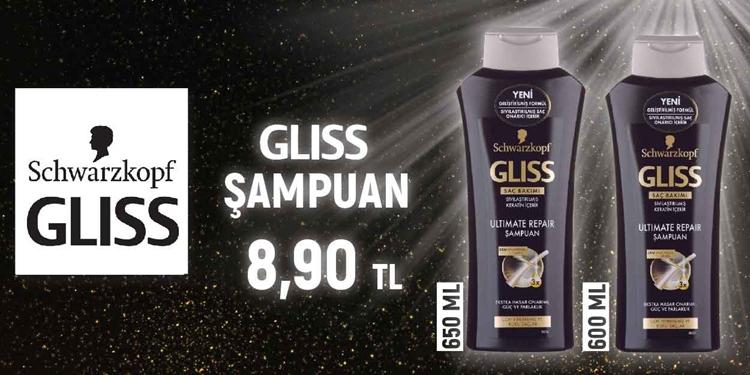 GLISS ŞAMPUAN KAMPANYASI kampanya resmi