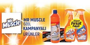 MR. MUSCLE KAMPANYASI kampanya resmi