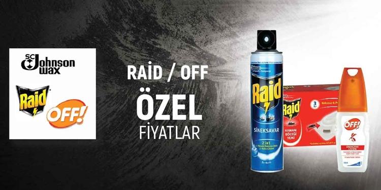 RAID /OFF SEZON KAPANIŞI ÖZEL kampanya resmi