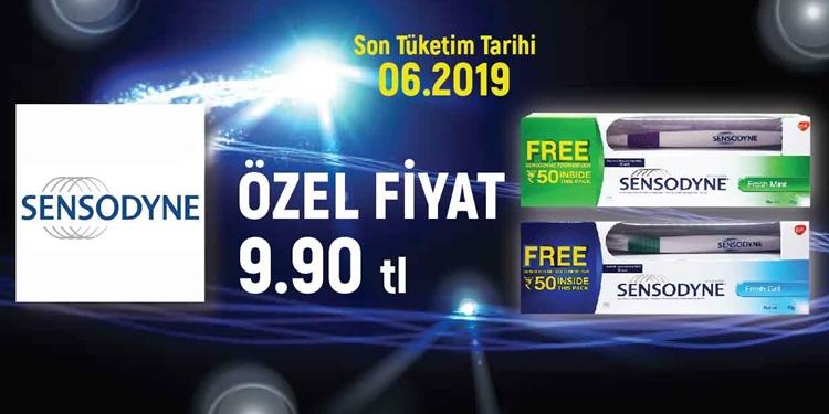 SENSODYNE ÖZEL FİYATLAR kampanya resmi