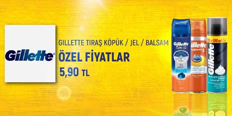 GILLETTE TIRAŞ KÖPÜK  JEL  BALSAM   KAMPANYA kampanya resmi