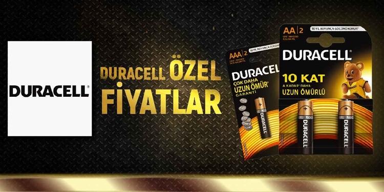 DURACELL ÖZEL FİYATLAR kampanya resmi