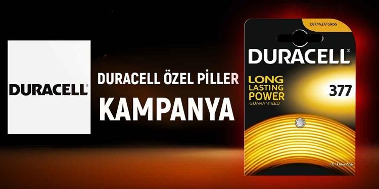 DURACELL ÖZEL PİLLER KAMPANYASI kampanya resmi
