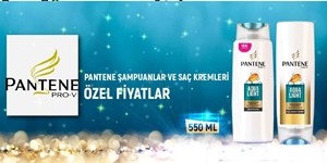 PANTENE ŞAMPUAN VE SAÇ KREMLERİ KAMPANYASI kampanya resmi