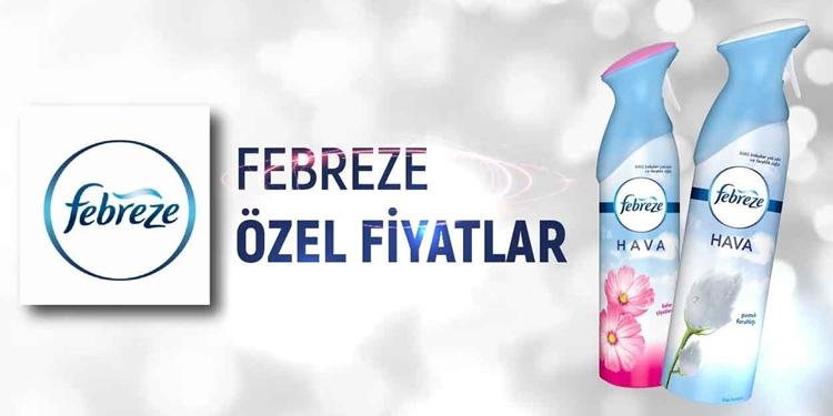 FEBREZE KAMPANYA kampanya resmi