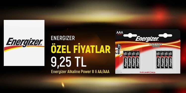 ENERGIZER ÖZEL FİYATLAR KAMPANYASI kampanya resmi