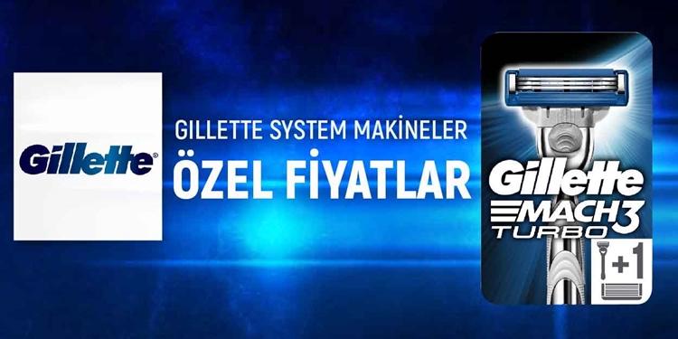 Gillette Sistem Makineler Kampanya kampanya resmi