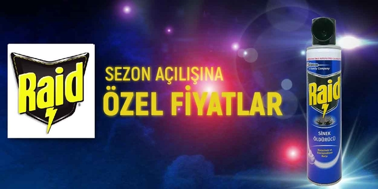 RAİD SEZON AÇILIŞINA ÖZEL FİYATLAR kampanya resmi