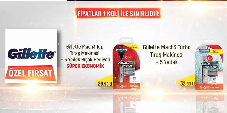 GILLETTE ÖZEL FIRSAT KAMPANYASI kampanya resmi