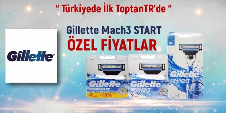 Gillette Mach 3 Start ÖZEL FİYATLAR kampanya resmi