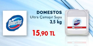 Domestos Ultra Çamaşır Suyu 3,5 Kg Fırsatı! kampanya resmi