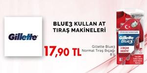 BLUE3KULLAT AT TIRAŞ MAKİNELERİ kampanya resmi
