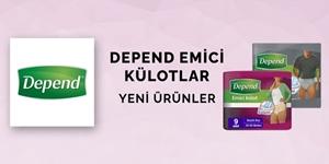 DEPEND EMİCİ KÜLOTLAR kampanya resmi