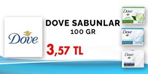 DOVE SABUNLARDA KAMPANYA kampanya resmi