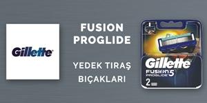 Gillette Fusion Yedek Tıraş Bıçakları kampanya resmi