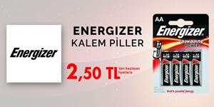 ENERGIZER KALEM PİLLERDE KAMPANYA kampanya resmi