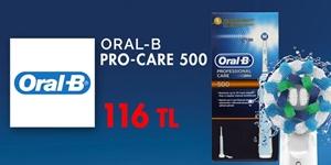 Oral-B Pro-Care 500 Şarj Edilebilir Diş Fırçası Özel Fiyat kampanya resmi