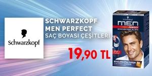 Schwarzkopf Men Perfect Erkek Saç Boyaları kampanya resmi
