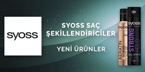 SYOSS SAÇ ŞEKİLLENDİRİCİLER kampanya resmi