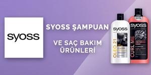Syoss Şampuan ve Saç Bakım Ürünleri kampanya resmi