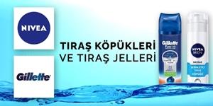 Tıraş Köpükleri ve Tıraş Jelleri kampanya resmi