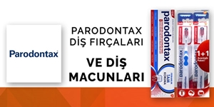 Parodontax Diş Macunları ve Diş Fırçaları kampanya resmi