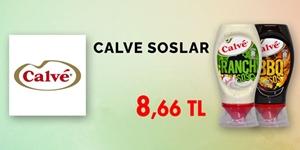 Calve Soslarda Özel Fiyatlar kampanya resmi