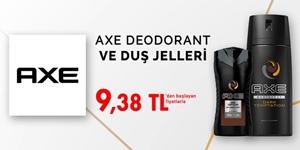 Axe Deodorant ve Duş Jelleri Özel Fiyatlar kampanya resmi