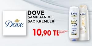 Dove Şampuan ve Saç Kremleri kampanya resmi