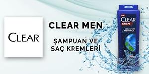 Clear Men Erkek Şampuan ve Saç Bakım Ürünleri kampanya resmi