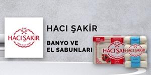 Hacı Şakir Banyo ve El Sabunları kampanya resmi