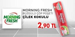 Morning Fresh Çöp Poşetleri kampanya resmi