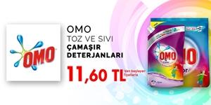 Omo Toz ve Sıvı Çamaşır Deterjanları kampanya resmi