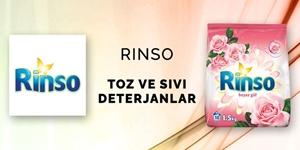 Rinso Çamaşır Deterjanları kampanya resmi