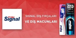 Signal Diş Macunları ve Diş Fırçaları kampanya resmi
