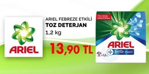 Ariel Febreze Etkili Toz Çamaşır Deterjanı 1,2 kg Kampanya kampanya resmi